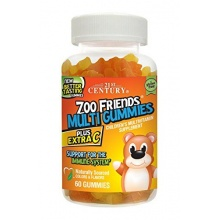 Витамины 21st Century Extra C ZOO FRIENDS 60таб