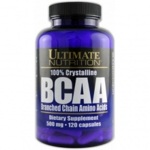BCAA Ultimate Nutrition 1000mg 60 caps