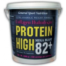 Протеин GSN High Proteine 82+ & collagen 4,5 kg
