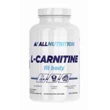 Л-карнитин All Nutrition L-Carnitine Fit Body 120 кап