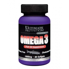 Антиоксидант Ultimate Nutrition Omega 3 1000мг 90 таб