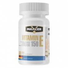 Витамины Maxler Vitamin E Natural Form 150mg 60 softgels