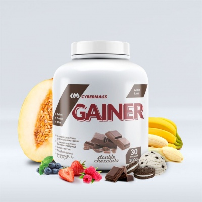 Гейнер Cybermass Gainer 3000 гр